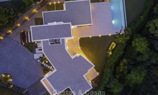 New elegant-contemporary modern luxury villa for sale in El Madroñal, Benahavis - Marbella 17163