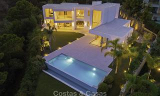 New elegant-contemporary modern luxury villa for sale in El Madroñal, Benahavis - Marbella 17164