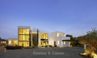 New elegant-contemporary modern luxury villa for sale in El Madroñal, Benahavis - Marbella 17169