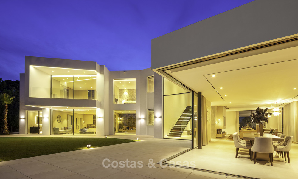 New elegant-contemporary modern luxury villa for sale in El Madroñal, Benahavis - Marbella 17170