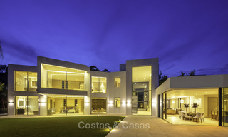 New elegant-contemporary modern luxury villa for sale in El Madroñal, Benahavis - Marbella 17171