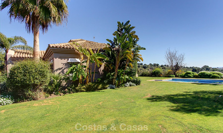 Spectacular, modern Andalusian style luxury villa for sale, New Golden Mile, Benahavis Marbella 3952