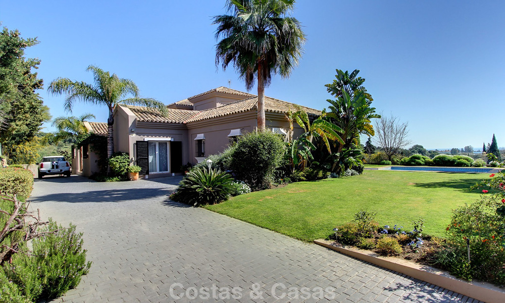 Spectacular, modern Andalusian style luxury villa for sale, New Golden Mile, Benahavis Marbella 3953