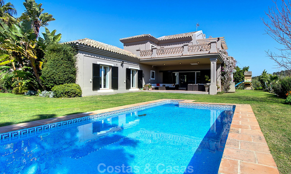 Spectacular, modern Andalusian style luxury villa for sale, New Golden Mile, Benahavis Marbella 3958