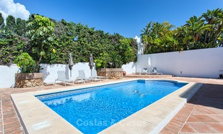 Recently renovated beach side luxury villa for sale in Los Monteros, East Marbella 4035