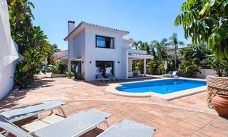 Recently renovated beach side luxury villa for sale in Los Monteros, East Marbella 4039