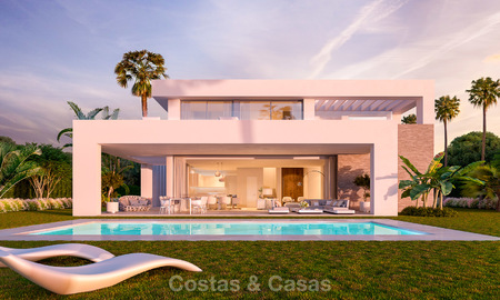 Modern luxury villas for sale in a new development in Mijas, Costa del Sol 4063