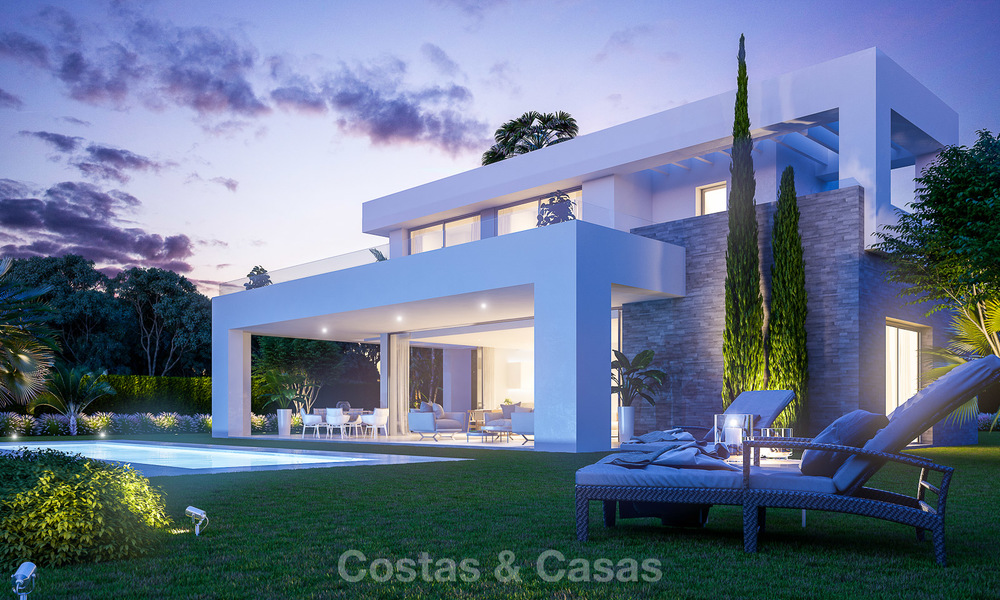 Modern luxury villas for sale in a new development in Mijas, Costa del Sol 4064