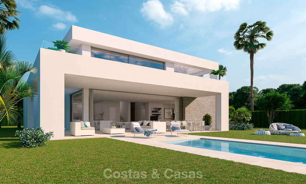 Modern luxury villas for sale in a new development in Mijas, Costa del Sol 4065