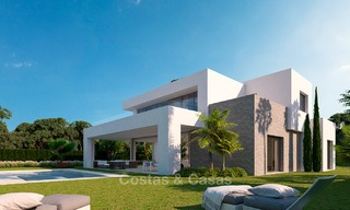 Modern luxury villas for sale in a new development in Mijas, Costa del Sol 4066
