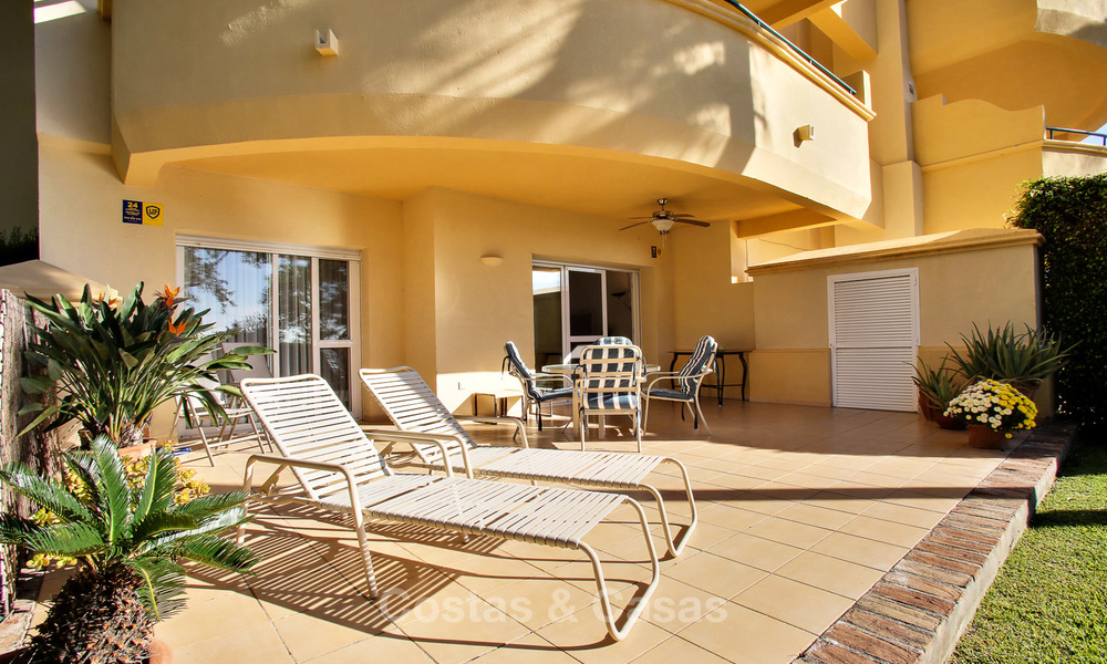 Charming, spacious south-facing luxury apartment for sale in a sought after golf urbanisation, Elviria - Marbella 4103