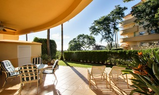 Charming, spacious south-facing luxury apartment for sale in a sought after golf urbanisation, Elviria - Marbella 4104