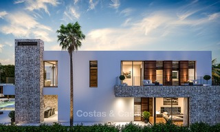 Majestic and luxurious contemporary villa for sale in an exclusive beachside urbanisation, Guadalmina Baja, Marbella. 4121