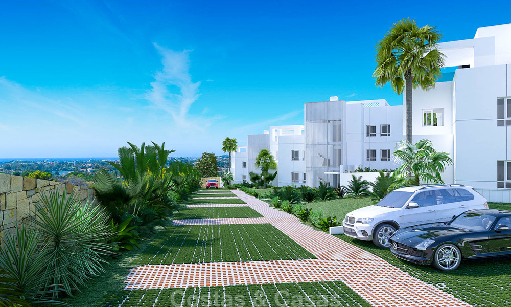 Exclusive new apartments for sale in an upscale golf resort in Benahavis - Marbella. Ready + discount! 4158