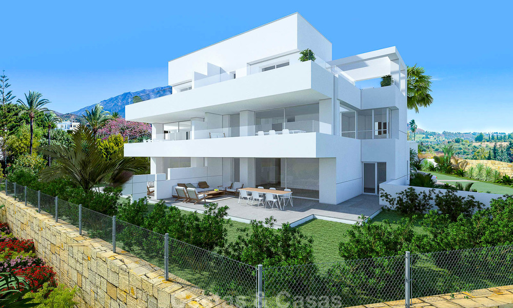 Exclusive new apartments for sale in an upscale golf resort in Benahavis - Marbella. Ready + discount! 4159