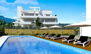 Exclusive new apartments and penthouses for sale in an upscale golf resort in Benahavis, Marbella 4160