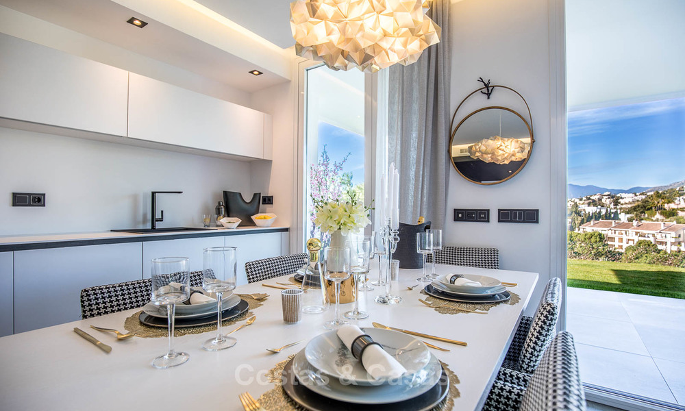 Exclusive new apartments for sale in an upscale golf resort in Benahavis - Marbella. Ready + discount! 4171