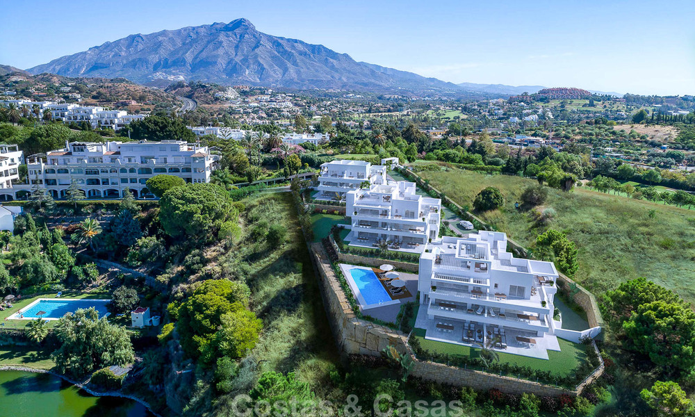 Exclusive new apartments for sale in an upscale golf resort in Benahavis - Marbella. Ready + discount! 4175