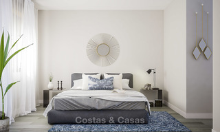 New built modern apartments for sale in a new contemporary development - Mijas - Costa del Sol 4210