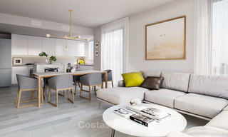 New built modern apartments for sale in a new contemporary development - Mijas - Costa del Sol 4212