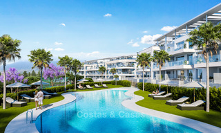New built modern apartments for sale in a new contemporary development - Mijas - Costa del Sol 4216