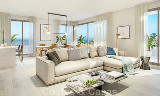 New built modern apartments for sale in a new contemporary development - Mijas - Costa del Sol 28928