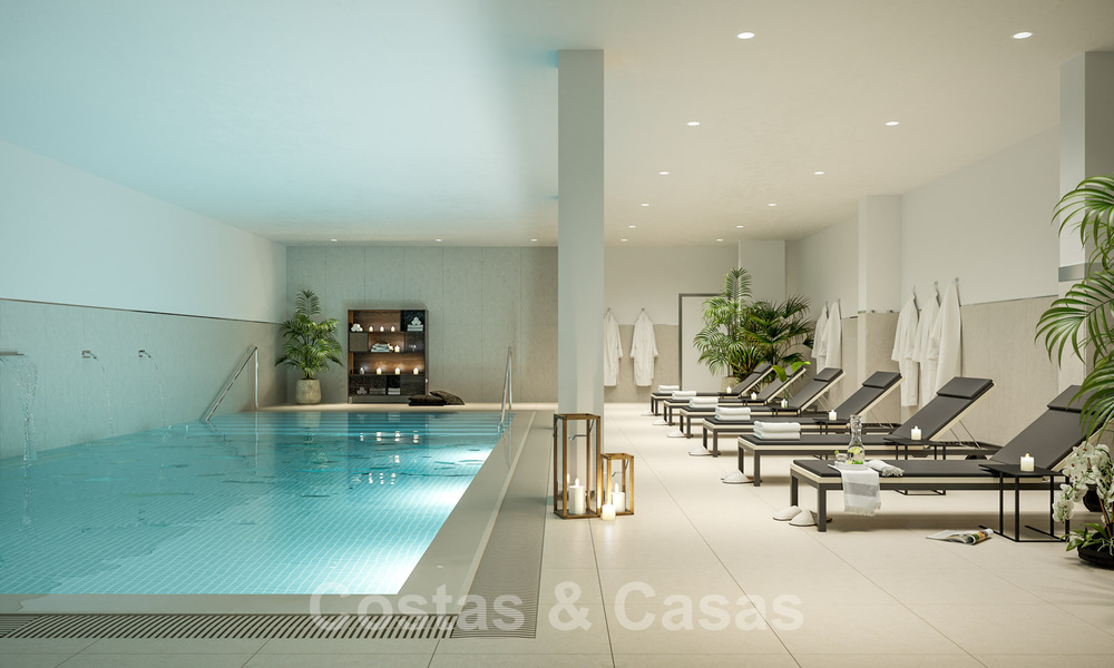 New built modern apartments for sale in a new contemporary development - Mijas - Costa del Sol 28931