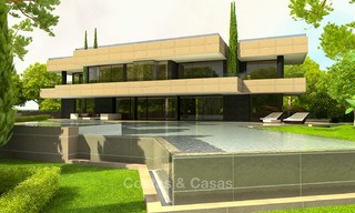 Brand new, beach side modern designer style villa for sale, Estepona East - Marbella 4430