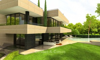 Brand new, beach side modern designer style villa for sale, Estepona East - Marbella 4431
