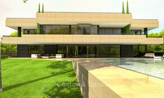 Brand new, beach side modern designer style villa for sale, Estepona East - Marbella 4432