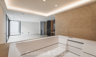 Brand new, beach side ultra-modern designer style villa for sale, Estepona East - Marbella. Ready to move in. 30720