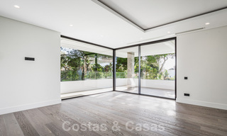 Brand new, beach side ultra-modern designer style villa for sale, Estepona East - Marbella. Ready to move in. 30721