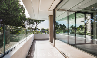Brand new, beach side ultra-modern designer style villa for sale, Estepona East - Marbella. Ready to move in. 30722