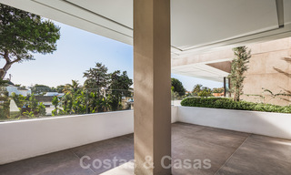 Brand new, beach side ultra-modern designer style villa for sale, Estepona East - Marbella. Ready to move in. 30723