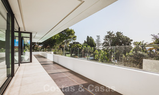 Brand new, beach side ultra-modern designer style villa for sale, Estepona East - Marbella. Ready to move in. 30727