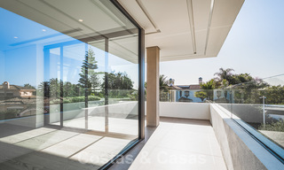 Brand new, beach side ultra-modern designer style villa for sale, Estepona East - Marbella. Ready to move in. 30730