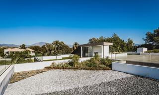 Brand new, beach side ultra-modern designer style villa for sale, Estepona East - Marbella. Ready to move in. 30735