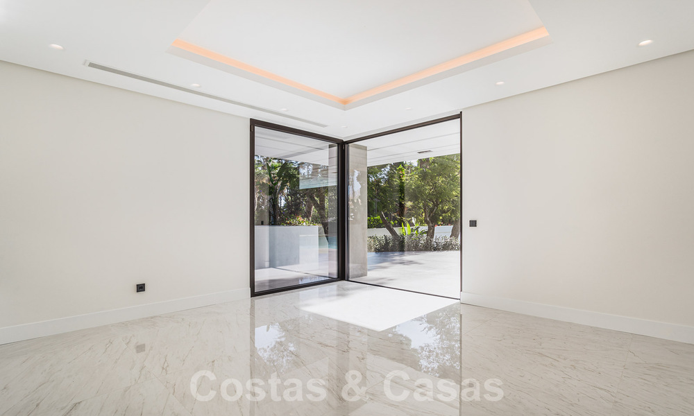 Brand new, beach side ultra-modern designer style villa for sale, Estepona East - Marbella. Ready to move in. 30739