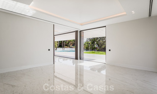 Brand new, beach side ultra-modern designer style villa for sale, Estepona East - Marbella. Ready to move in. 30745