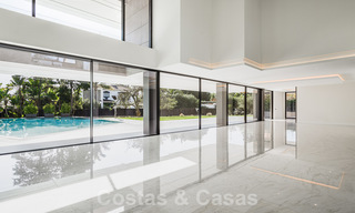 Brand new, beach side ultra-modern designer style villa for sale, Estepona East - Marbella. Ready to move in. 30748