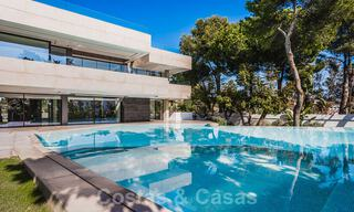 Brand new, beach side ultra-modern designer style villa for sale, Estepona East - Marbella. Ready to move in. 30751