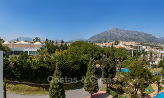 Last unit! Modern exclusive apartments for sale, each with their own heated pool, on the Golden Mile, Marbella 4236