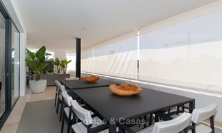 Last unit! Modern exclusive apartments for sale, each with their own heated pool, on the Golden Mile, Marbella 4244