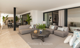 Last unit! Modern exclusive apartments for sale, each with their own heated pool, on the Golden Mile, Marbella 4246