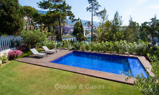 Only 8 modern exclusive apartments for sale, each with their own heated pool, on the Golden Mile, Marbella 4247