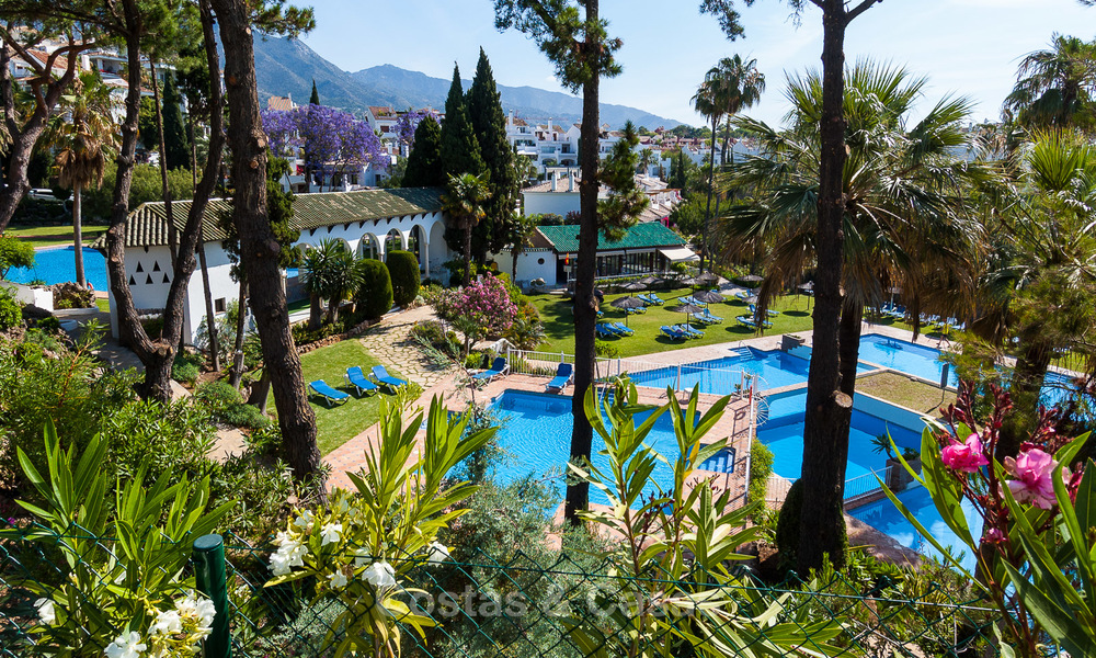 Last unit! Modern exclusive apartments for sale, each with their own heated pool, on the Golden Mile, Marbella 4248