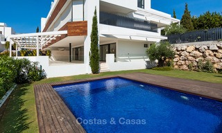 Last unit! Modern exclusive apartments for sale, each with their own heated pool, on the Golden Mile, Marbella 4260