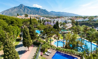 Last unit! Modern exclusive apartments for sale, each with their own heated pool, on the Golden Mile, Marbella 4263