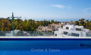 Last unit! Modern exclusive apartments for sale, each with their own heated pool, on the Golden Mile, Marbella 4266