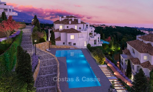 Stunning modern luxury apartments for sale in an exclusive complex in Nueva Andalucia - Marbella 4319